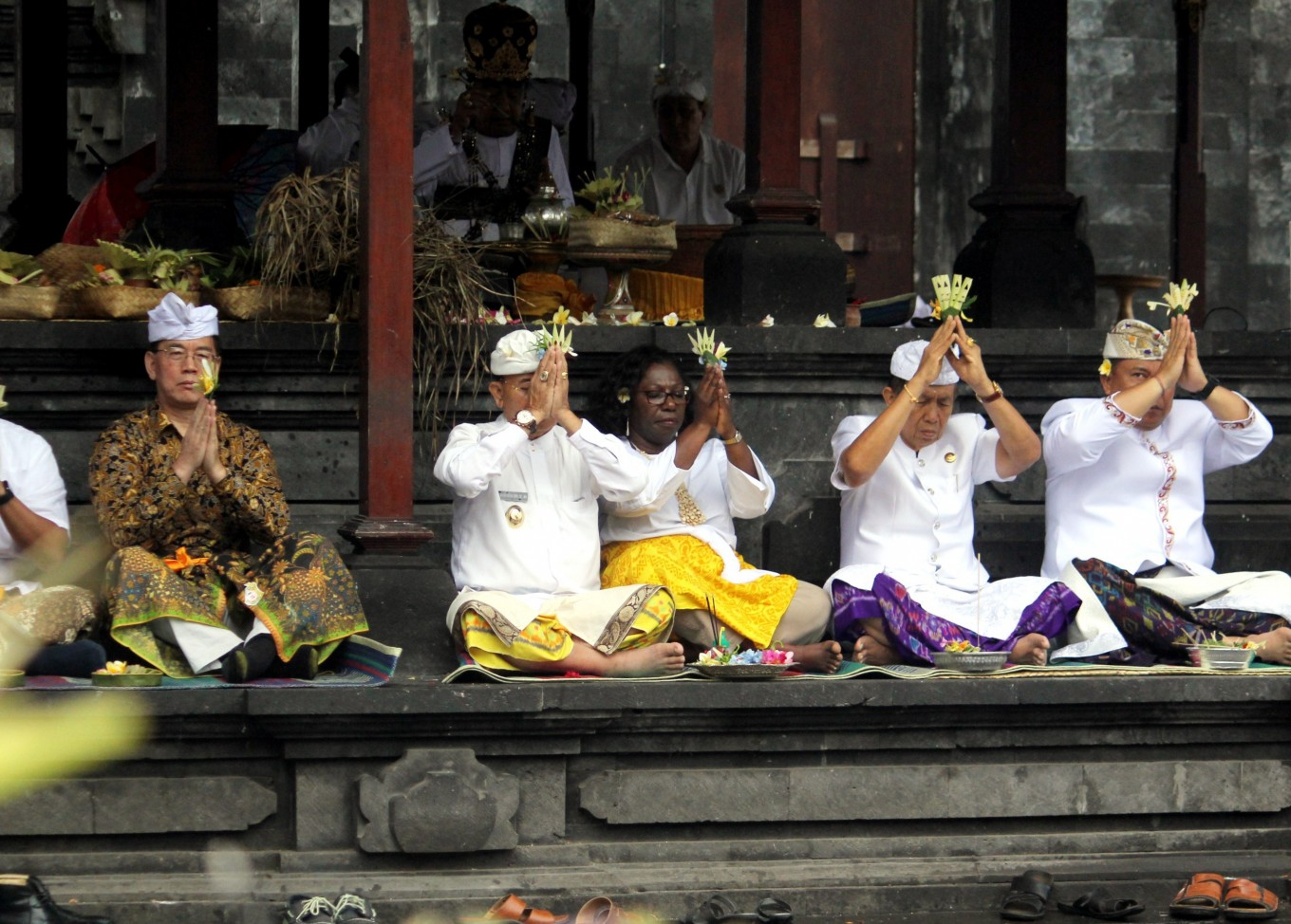 World Bank, IMF officials pray for smooth event in Bali
