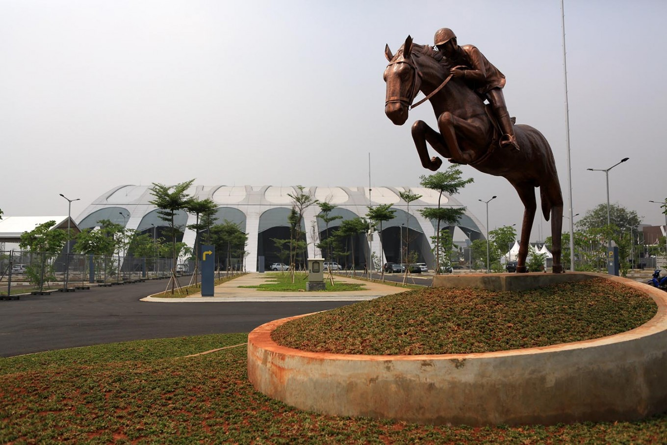 Equestrian center for Asian Games inaugurated
