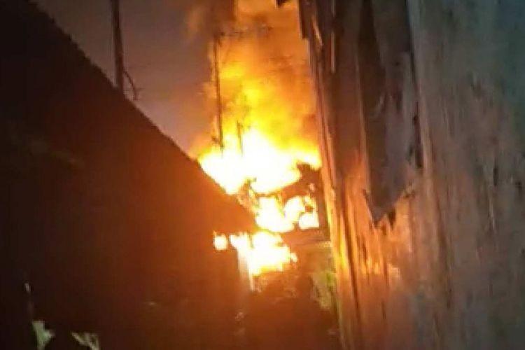 Fire hits Asian Games venue in East Jakarta
