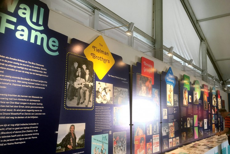 Icons: An exhibition celebrates contributions of the Indos — those of mixed Indonesian and Dutch heritage — to Dutch pop music during the Tong Tong Fair in The Hague.