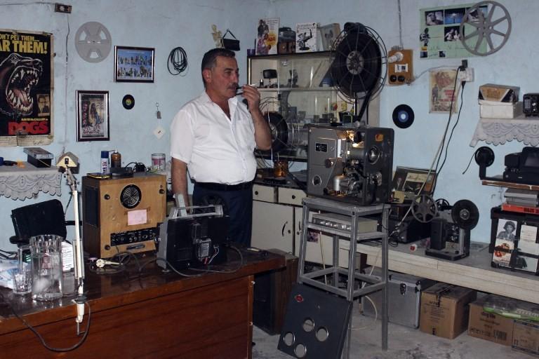 Art of cinema comes alive in basement of Iraq aficionado