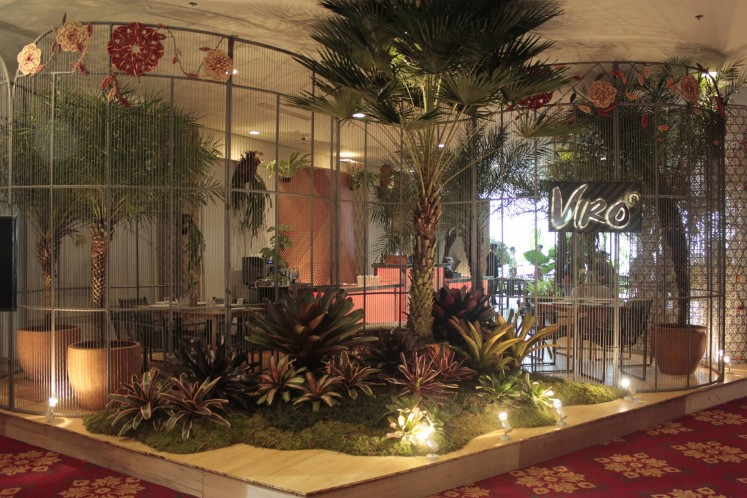 Green House by Maggie Joan pop-up restaurant during the 10th installment of Art Jakarta.