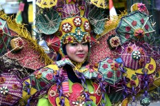 A total of 36 participants take part in the carnival, which also commemorates Klaten's 214th anniversary. JP/Magnus Hendratmo