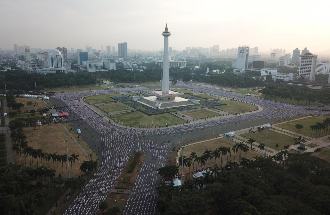 City allocates Rp 461 million for special team organizing events at Monas