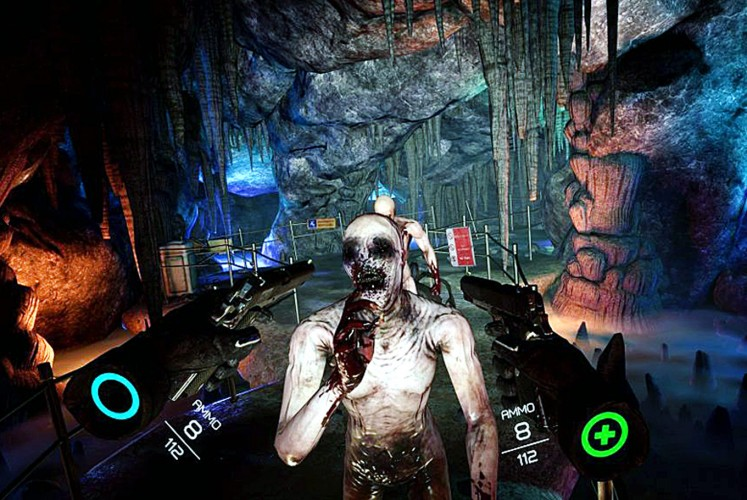 Zombie mode: The game's Holdout mode puts you up against a never-ending barrage of tougher and tougher zombies without any respite.