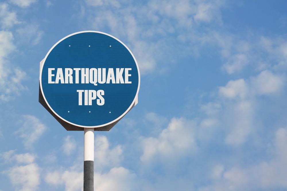 What to do when an earthquake strikes