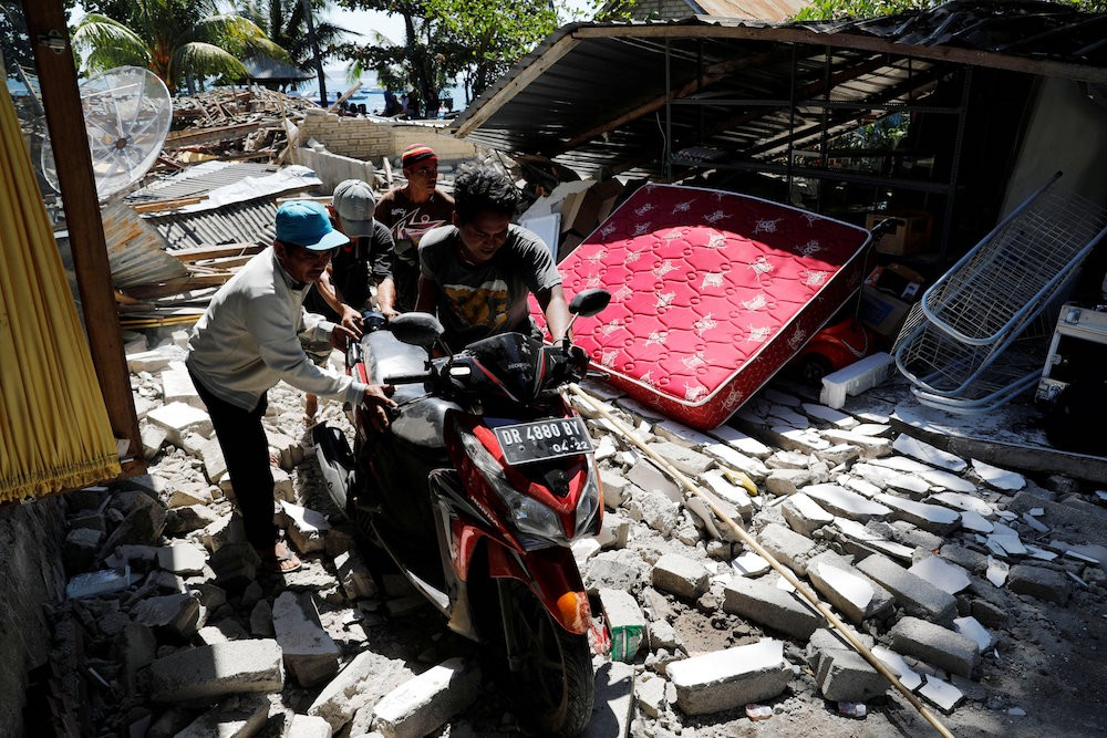 Tremors in Lombok might be 'twin earthquakes'