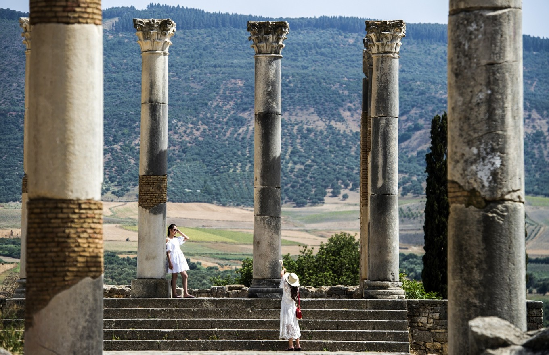Morocco's ancient city of Volubilis rises again