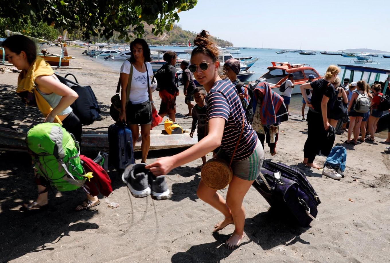 Tourism Crisis Center established in Lombok