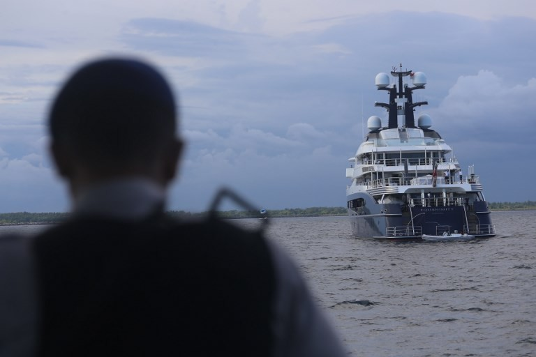 Superyacht linked to Malaysia's 1MDB scandal goes up for auction