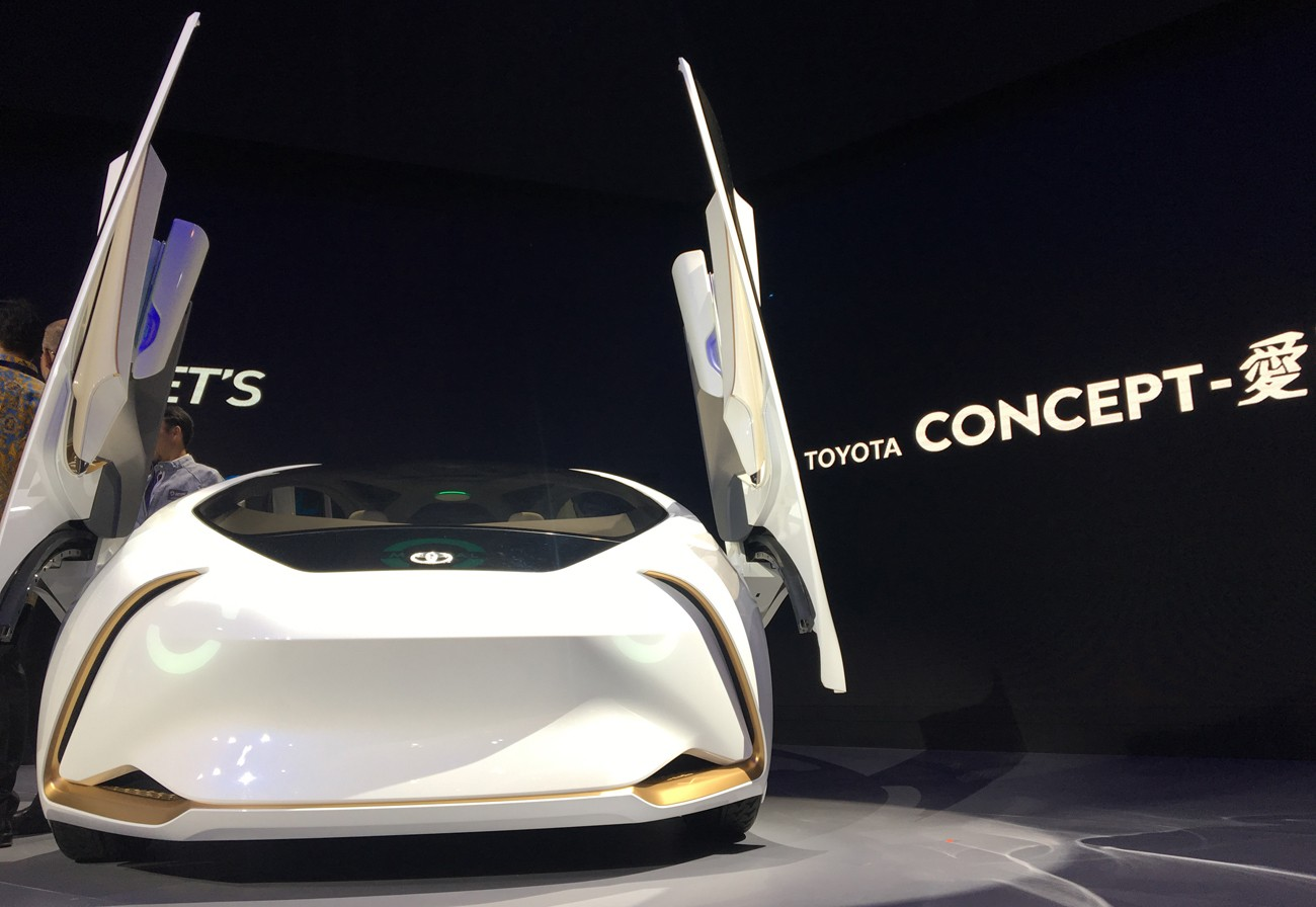What's on GIIAS 2018: Nostalgia with Suzuki Jimny to cars with AI