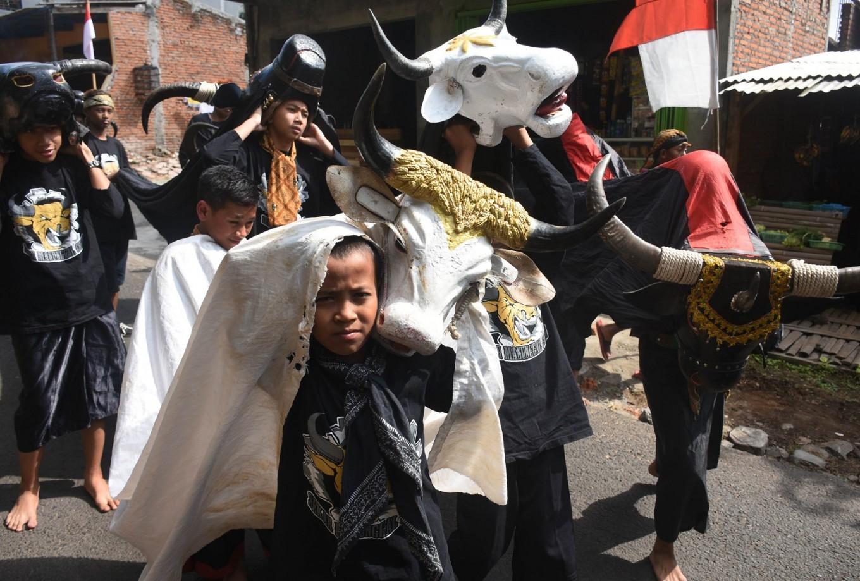 Bantengan Nusantara parade returns for 10th time to Batu