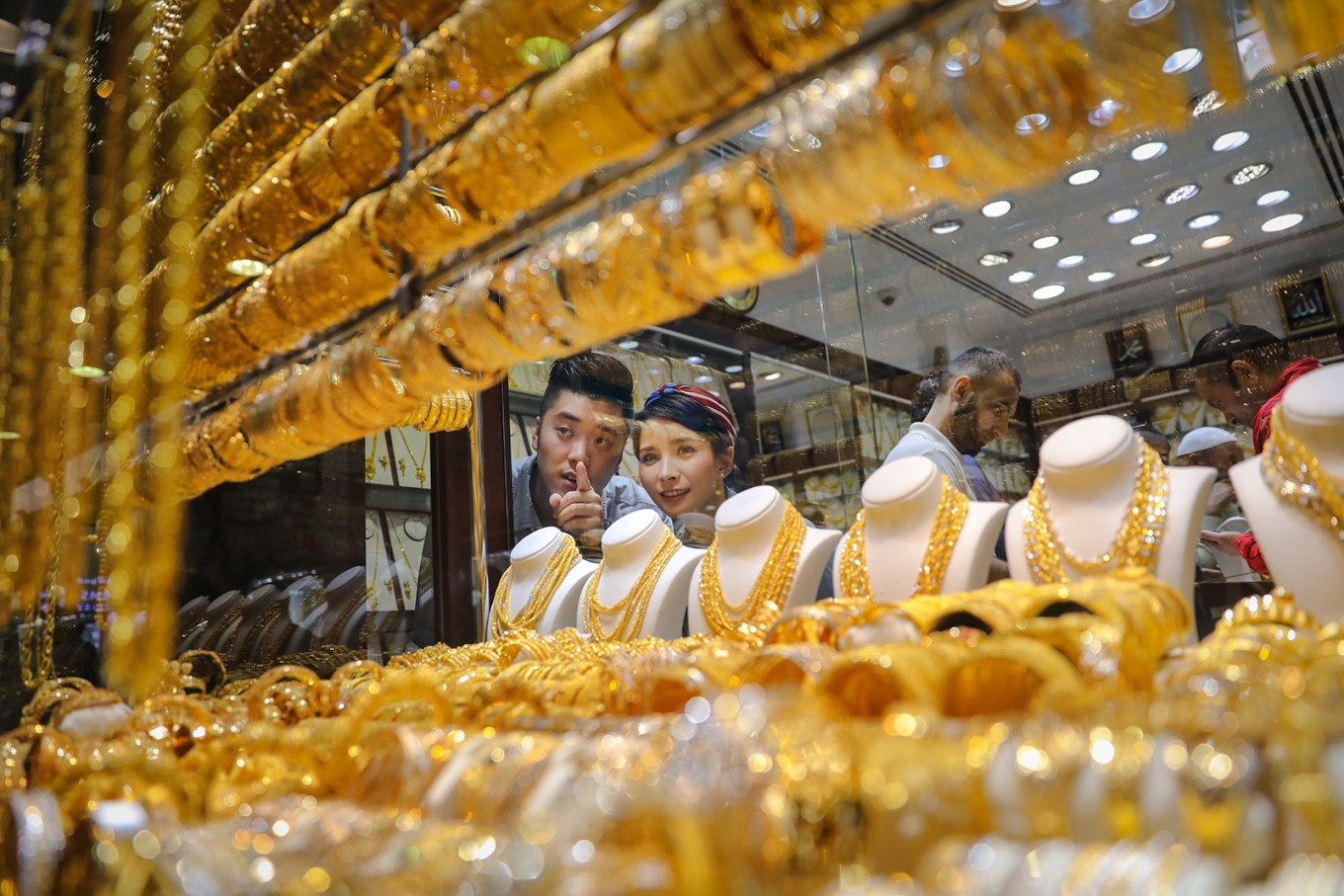 The Gold Souk in Deira