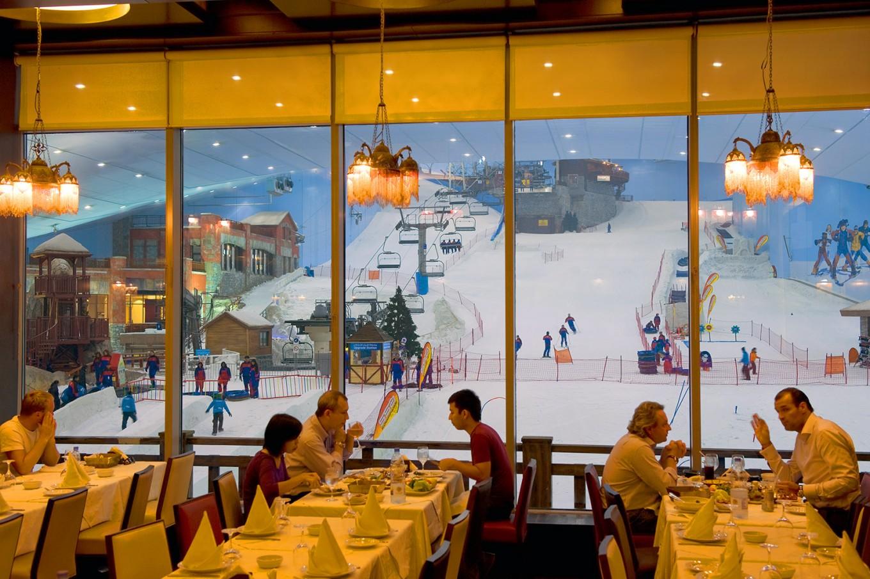 Ski Dubai at The Mall of The Emirates.
