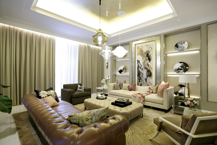The show unit at the Residences at The St Regis Jakarta. Alexandra Champalimaud will design the St Regis Jakarta hotel.