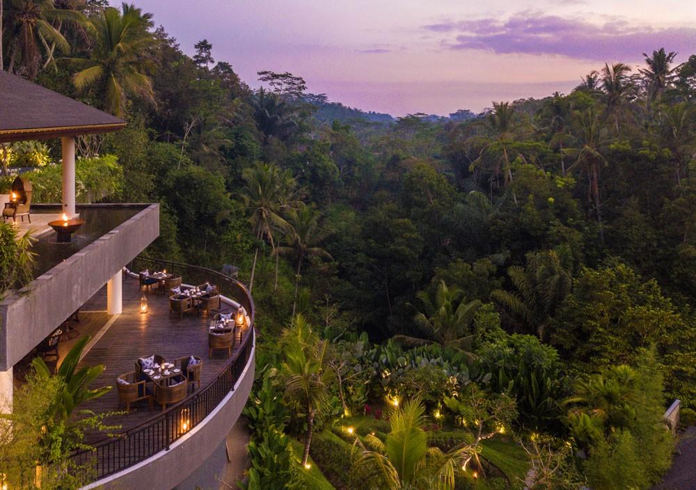 Enjoy variations of Bali's top culinary delights at Samsara's Kelusa restaurant