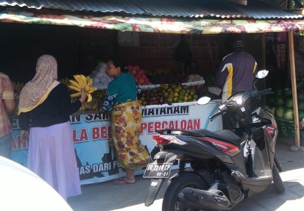 Economic activities in Lombok resume after earthquake