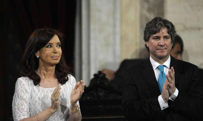 Ex-president Kirchner charged in Argentina corruption scandal