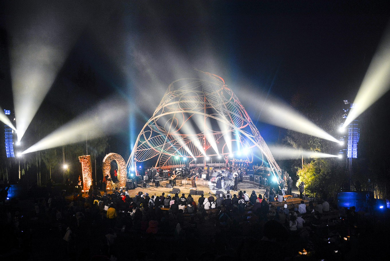 Decade of jazz: Outdoor music festival Jazz Gunung returned for the 10th time in Probolinggo, East Java.