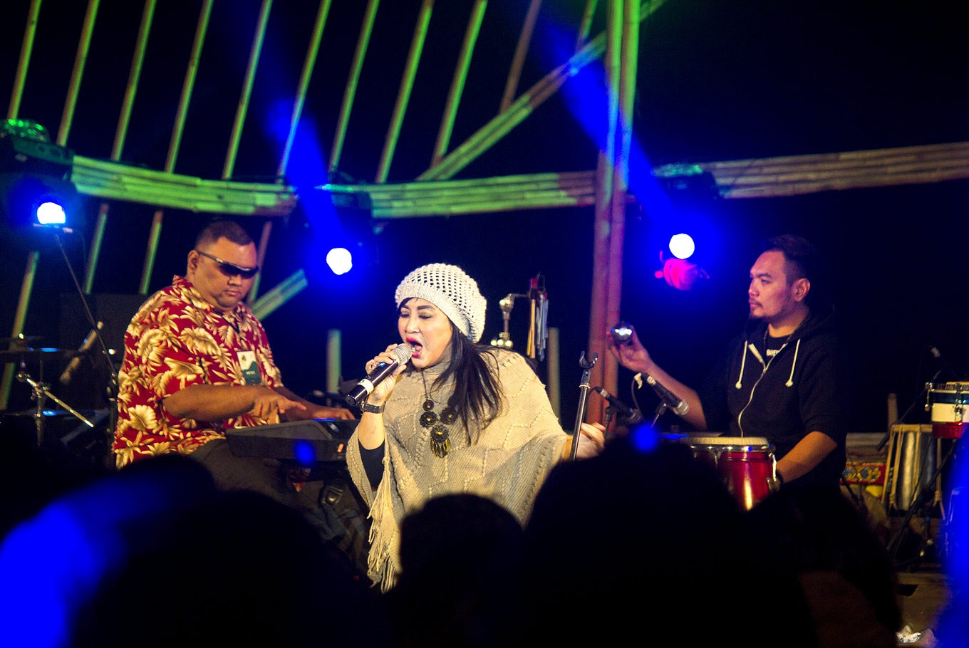 Remember: Surabaya All Stars pay tribute to the late Bubi Chen, a legendary Indonesian jazz musician.
