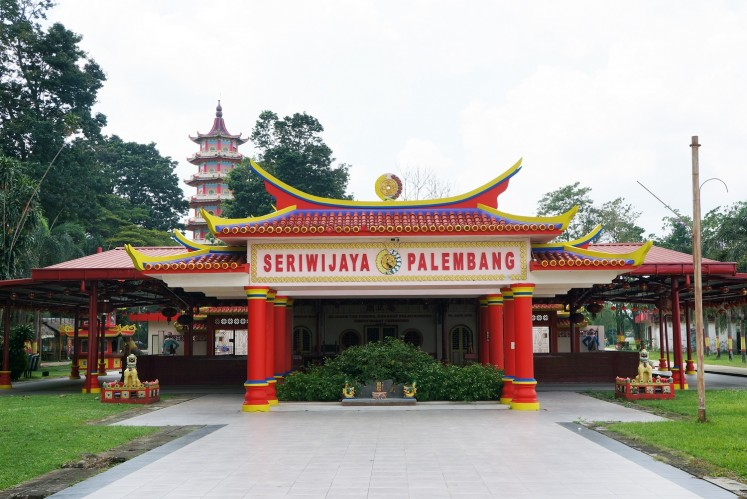 Pulau Kemaro is among the popular tourist attractions in Palembang, South Sumatra.