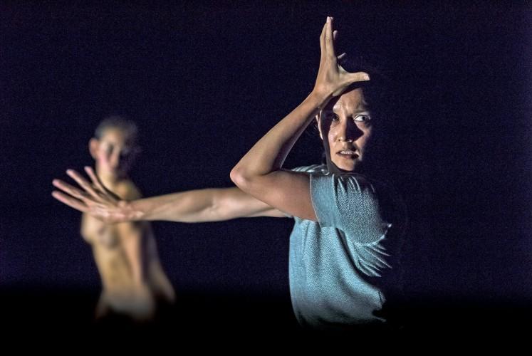 Peering: Lucy Guerin's Split received a Helpmann Award in the Best Dancer category in 2017.