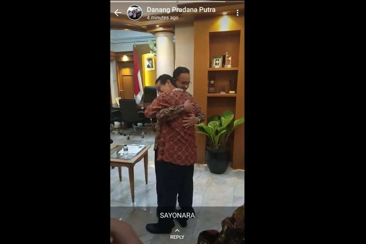 Sandiaga officially resigns on Friday, says goodbye to Anies