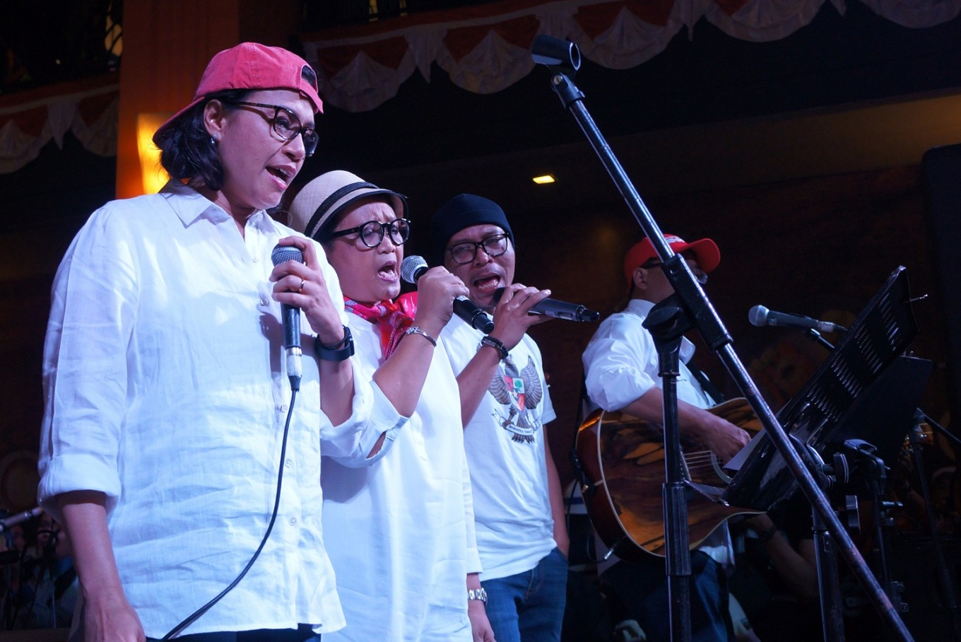 Band of ministers rocks charity concert for Lombok earthquake victims
