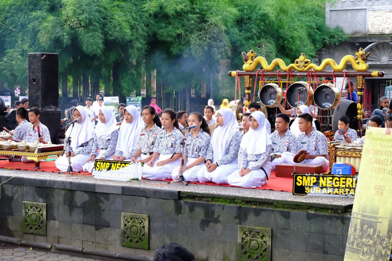 International, local gamelan groups gather at Surakarta festival