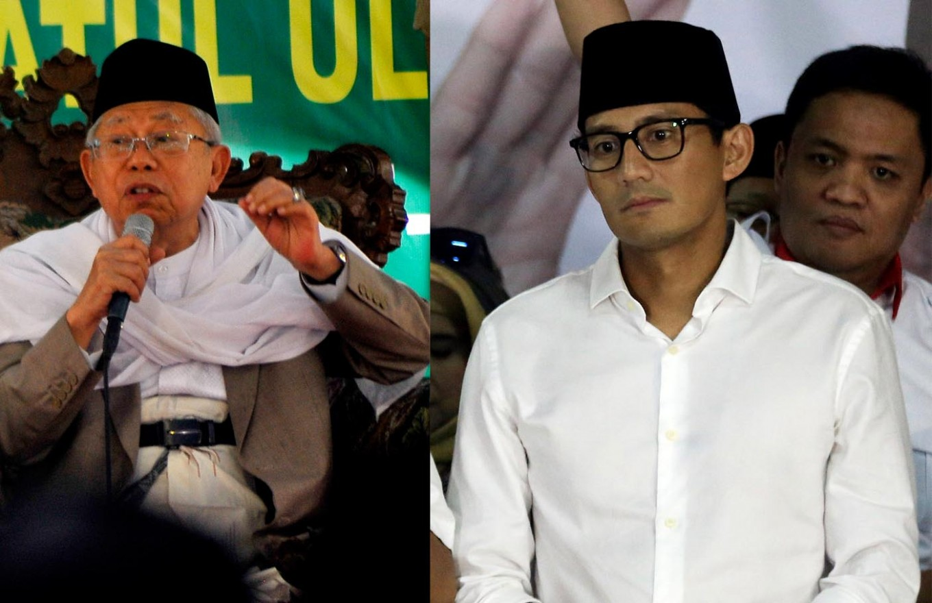 Post-Islamism what? Sandiaga confused by PKS campaign slogan