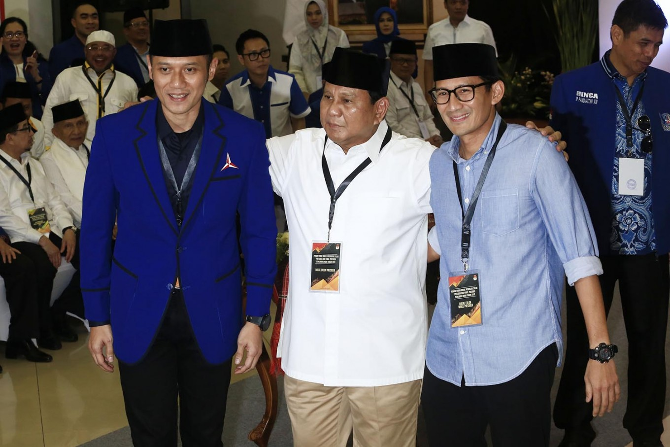 Andi Arief to stay with Dems after attacking Sandiagalast week
