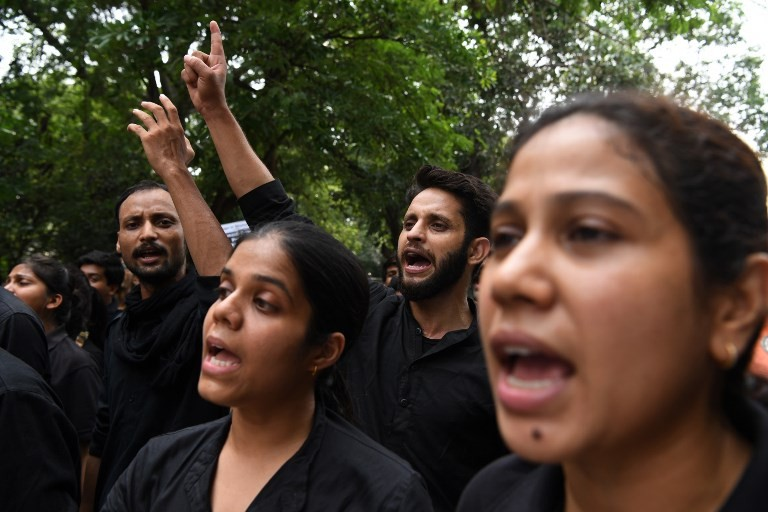 Protests after seven-year-old raped in Delhi
