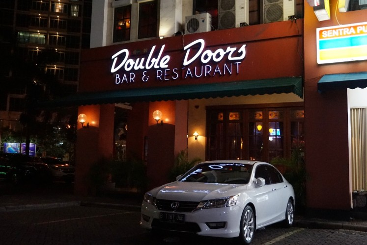 Double Doors opens from 12 p.m. to 2 a.m. on weekdays and until 3 a.m. on weekends.