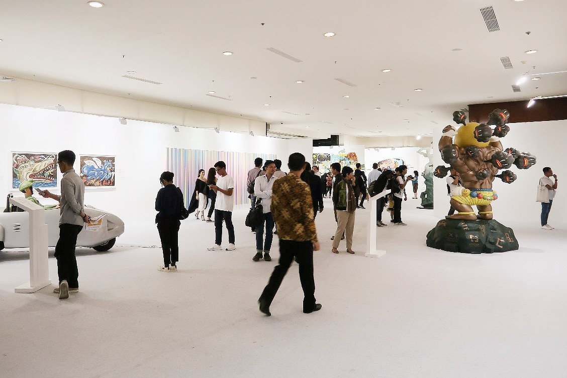 Art Jakarta wraps up with charity auction