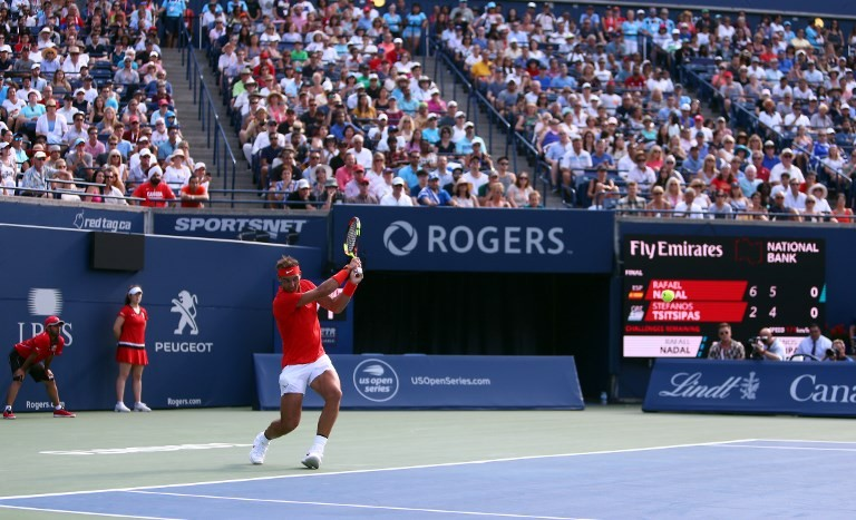 Nadal downs Tsitsipas to win Toronto Masters