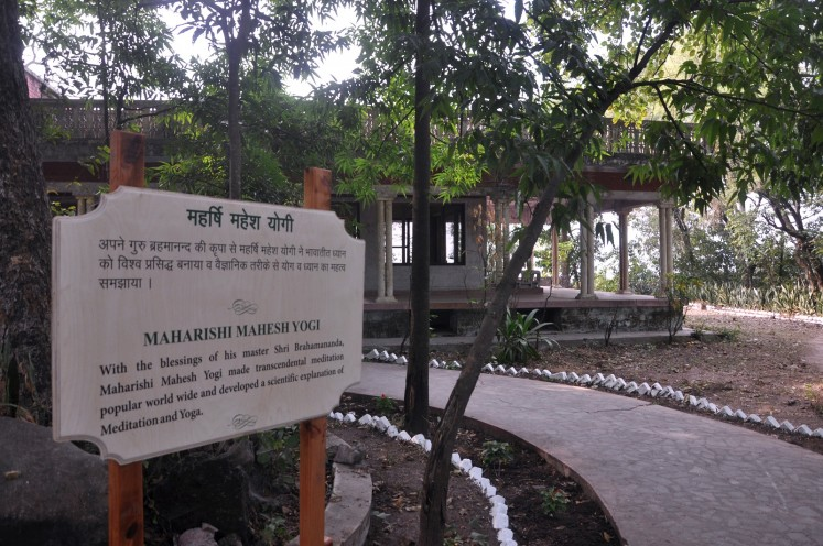 This photograph taken on December 8, 2015 shows the bungalow where the Beatles and their friends would attend spiritual sessions with self-styled guru Maharishi Mahesh Yogi at the Beatles ashram in Rishikesh. An abandoned spiritual retreat in northern India where The Beatles famously learned to meditate has been opened to the public, with plans to turn it into a touristy yoga centre