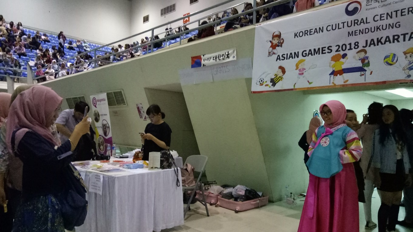Korean culture event in Palembang draws thousands of Kpop fans  Art  Culture  The Jakarta Post