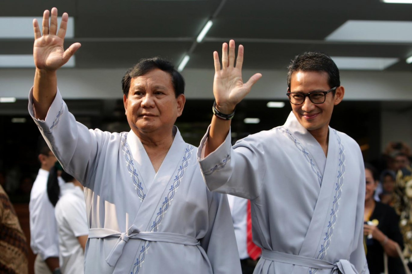 Prabowo-Sandiaga signs pact with GNPF, promises to uphold religious values
