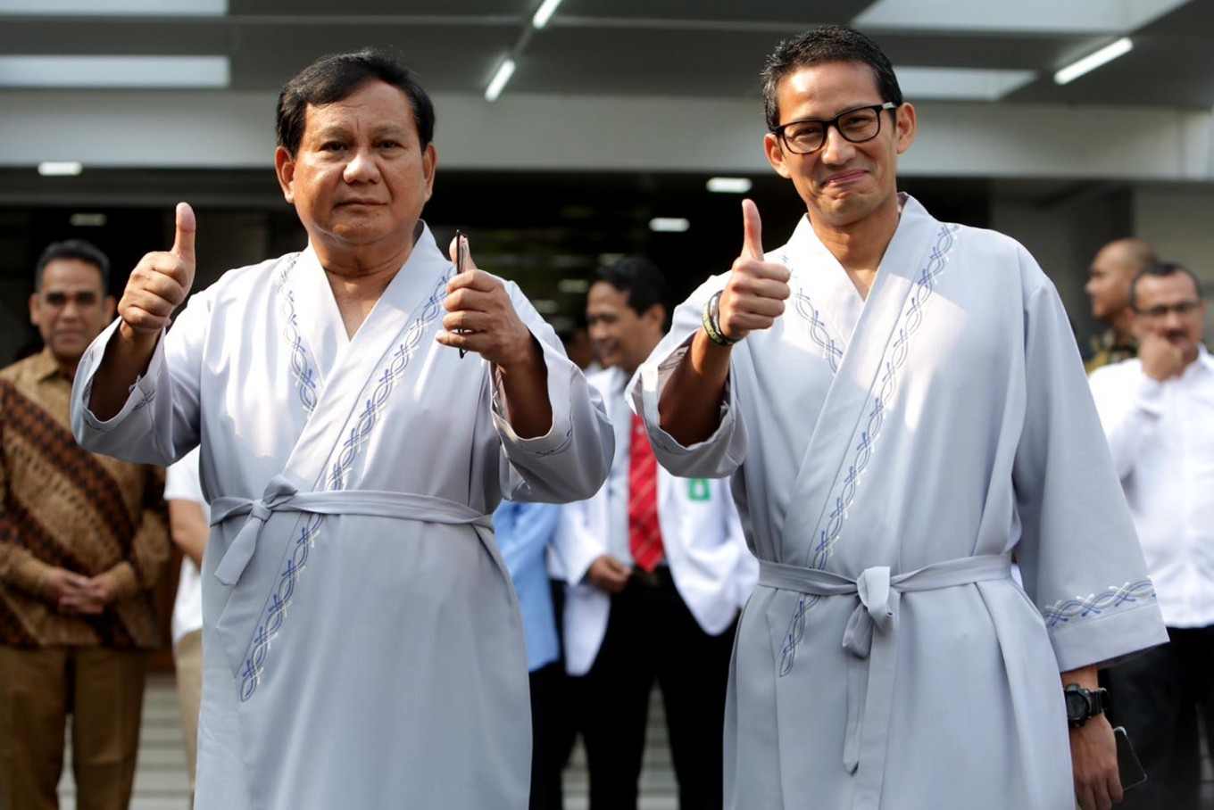Prabowo-Sandi campaign team upset over cancellation of pre-debate event