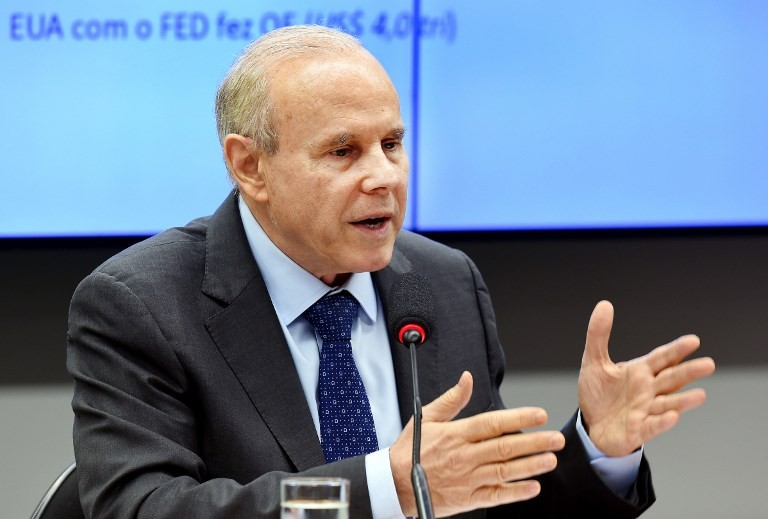 Former Brazil finance minister charged with corruption