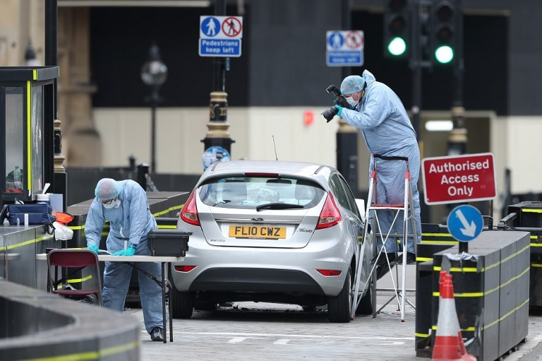 Birmingham man behind UK parliament car 'attack'