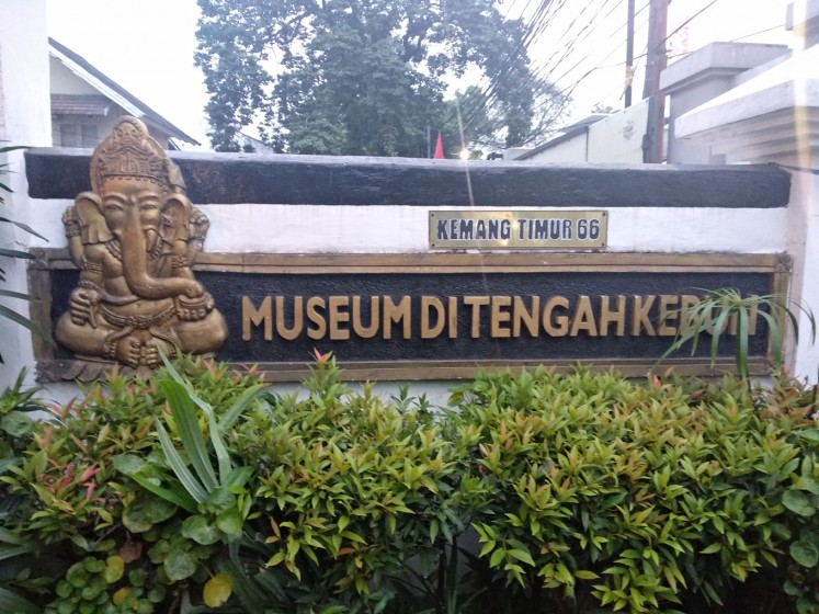 Museum di Tengah Kebun (Museum in the Middle of a Garden) is situated in Kemang, South Jakarta.