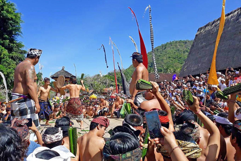 'Makare-kare': A gladiator-style ritual in Tenganan village