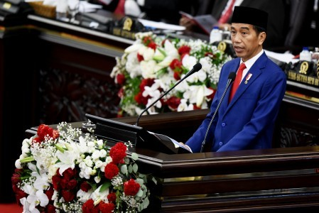 Jokowi highlights achievements in infrastructure, welfare