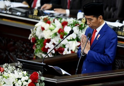 Asian Games golden opportunity for Indonesia: Jokowi