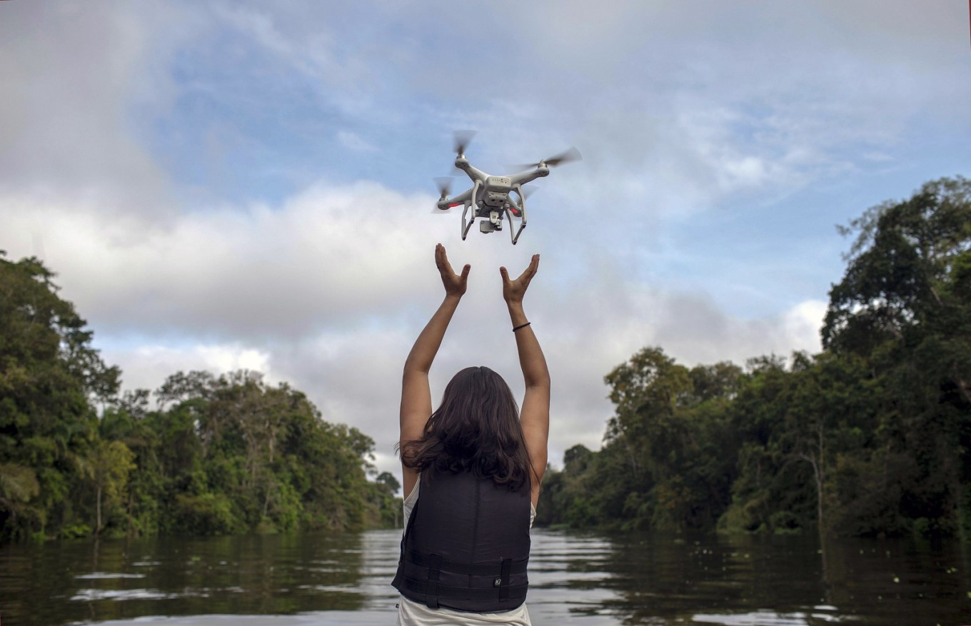 When drone poses threat to human