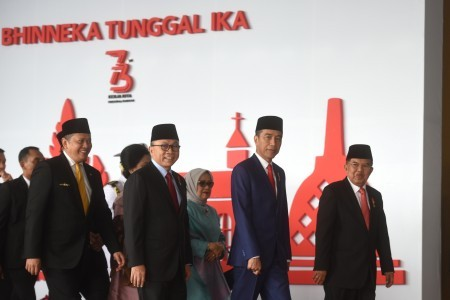 Improve social welfare and reduce wealth gap, MPR speaker tells Jokowi