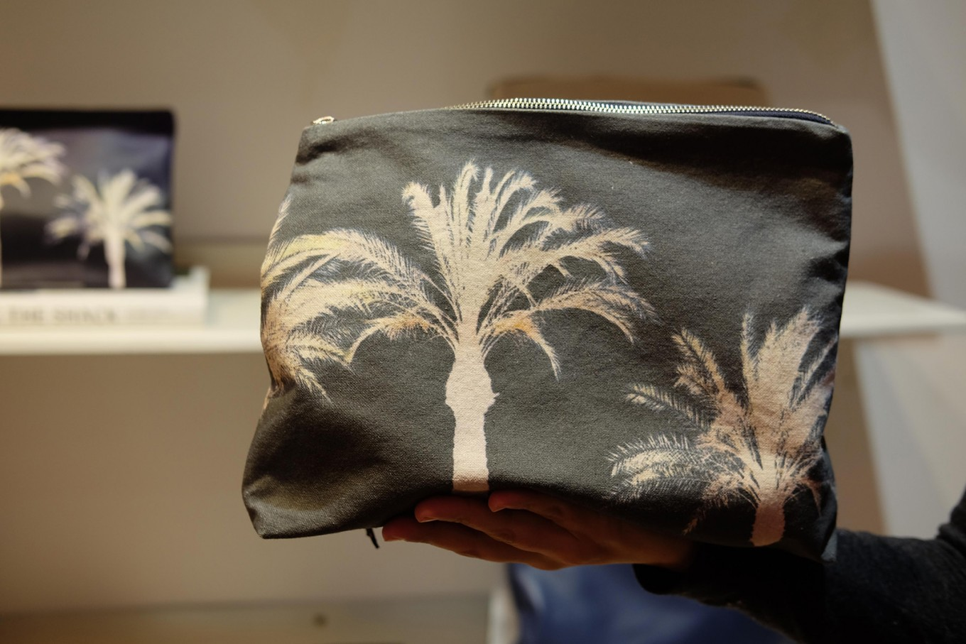 One of the canvas bags made by Zubi Designs.