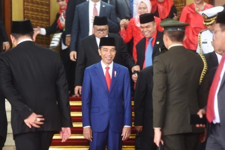 Jokowi, Moon to hold bilateral talks in Seoul