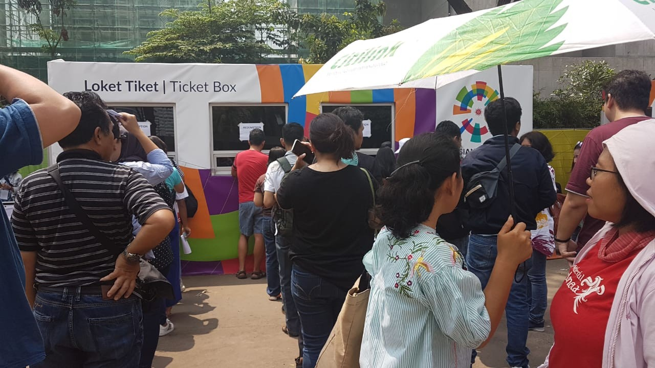 Asian Games Blibli Takes Over Ticket Sales After Glitch In Kiostix Voucer Shodaqo Nuril System